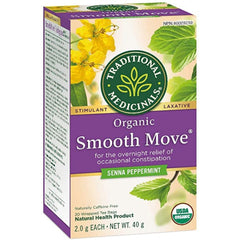 Traditional Medicinals Smooth Move Peppermint 20 Tea Bags