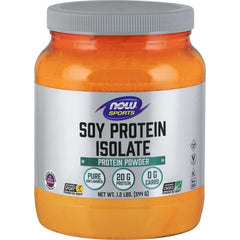 Now Soy Protein Isolate Unflavored  544G