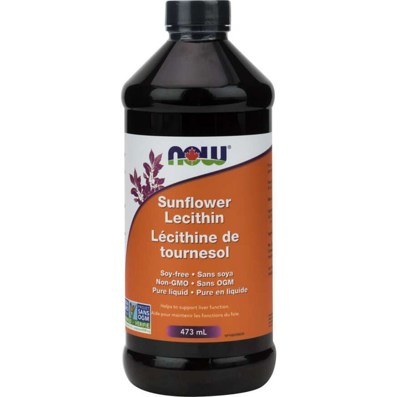 Now Sunflower Lecithin Liquid  473ml