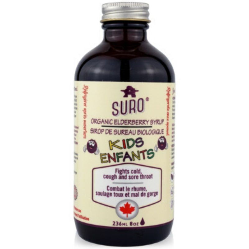 Suro Kids Organic Elderberry Syrup 236ml