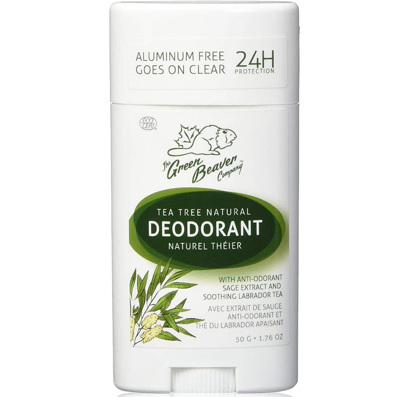 Green Beaver Tea Tree Deodorant 50g