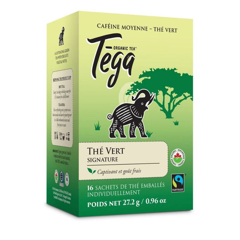 Tega Signature Green Tea 16 Tea Bags