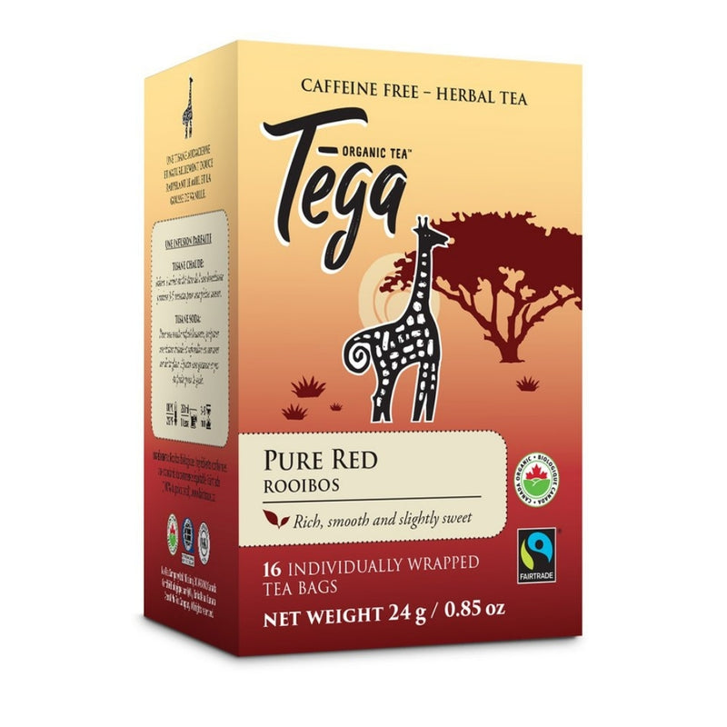Tega Pure Red Rooibos 16 Tea Bags
