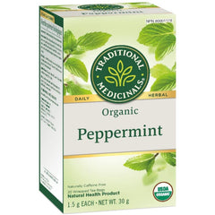 Traditional Medicinals Organic Peppermint 20 Tea Bags
