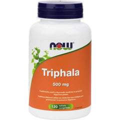 Now Triphala 500mg 120tabs