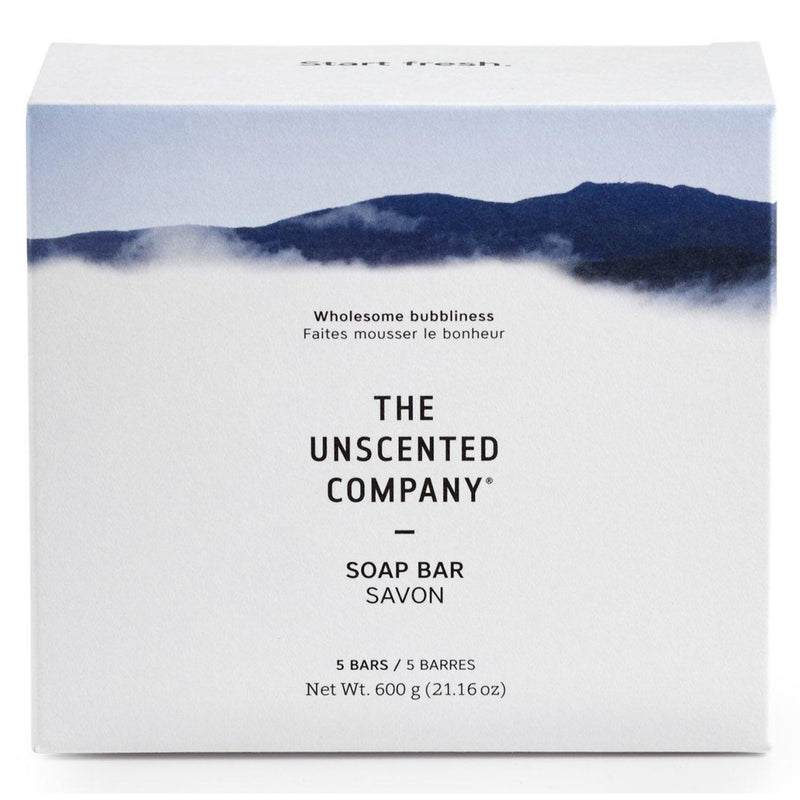 The Unscented Company 5 Soap Bars