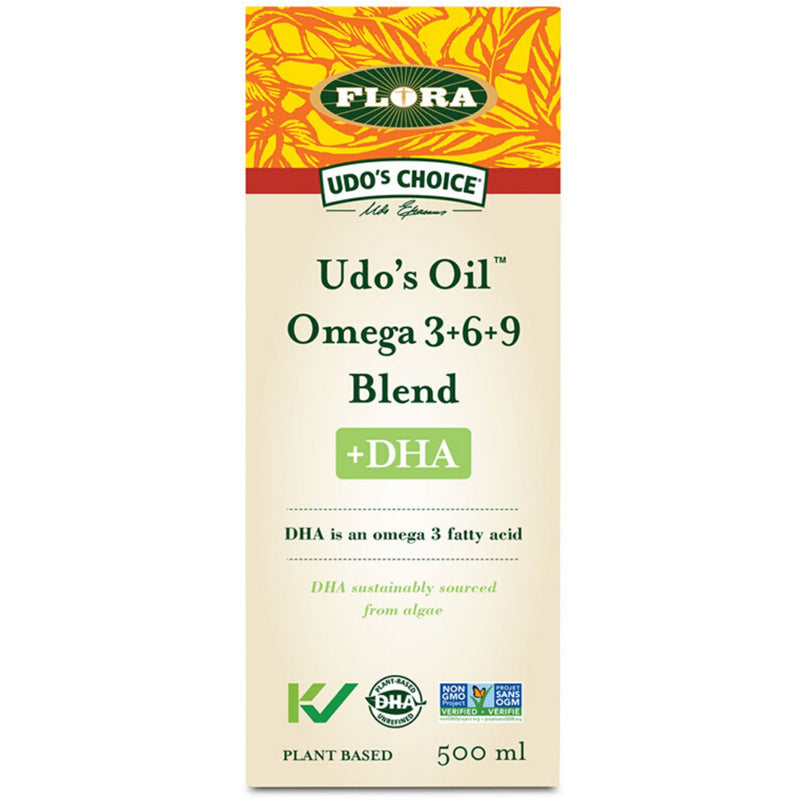 Udo's Oil Omega 3+6+9 Blend+ DHA 500ml