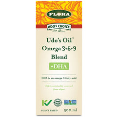 Udo's Oil Omega 3 + 6 + 9 Blend + DHA 500ml