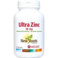 New Roots Capsules Ultra Zinc 30 mg 90V