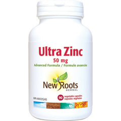 New Roots Ultra Zinc 50mg 90vcaps