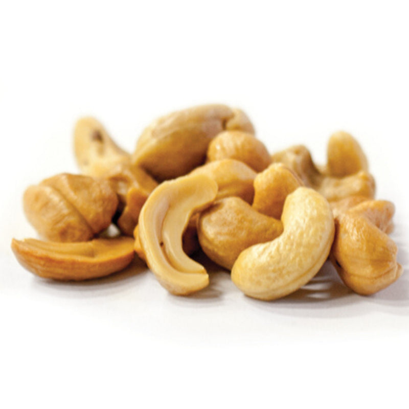Bulk Roasted Unsalted Whole Cashews $/100g