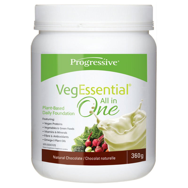 Progressive VegEssential Natural Chocolate 360g