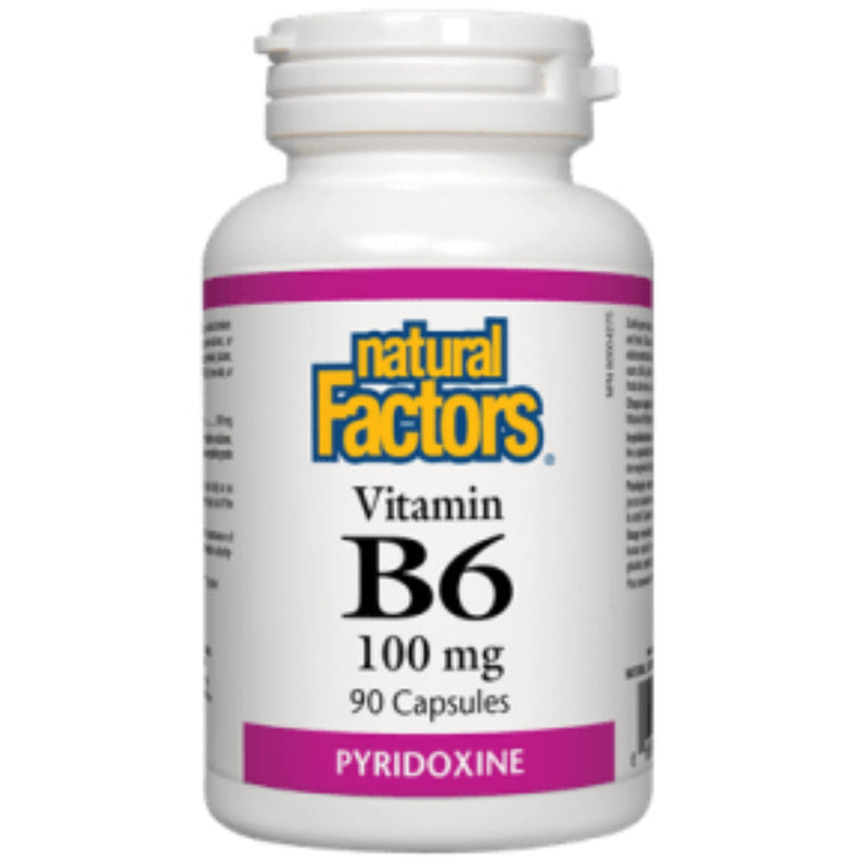 Natural Factors Vit B6 100mg  90 caps