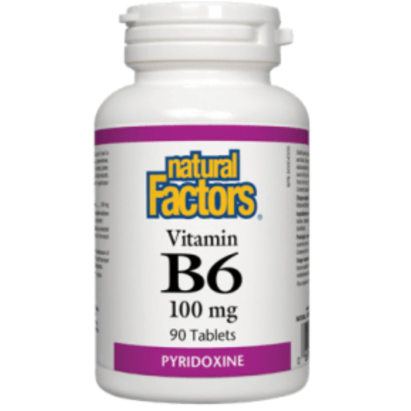 Natural Factors Vitamin B6 100mg 90t