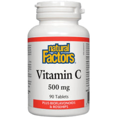 Natural Factors Vitamine C 500 mg 90 comprimés