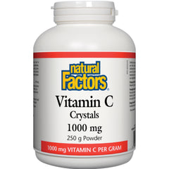 Natural Factors Vitamin C Crystals 1000mg 250g