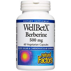 Natural Factors Well Bet-X Berberine 60vcaps