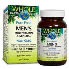 Natural Factors WES Multivitamines pour hommes 60t