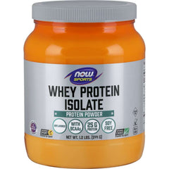 Now Whey Protein Isolate 544g