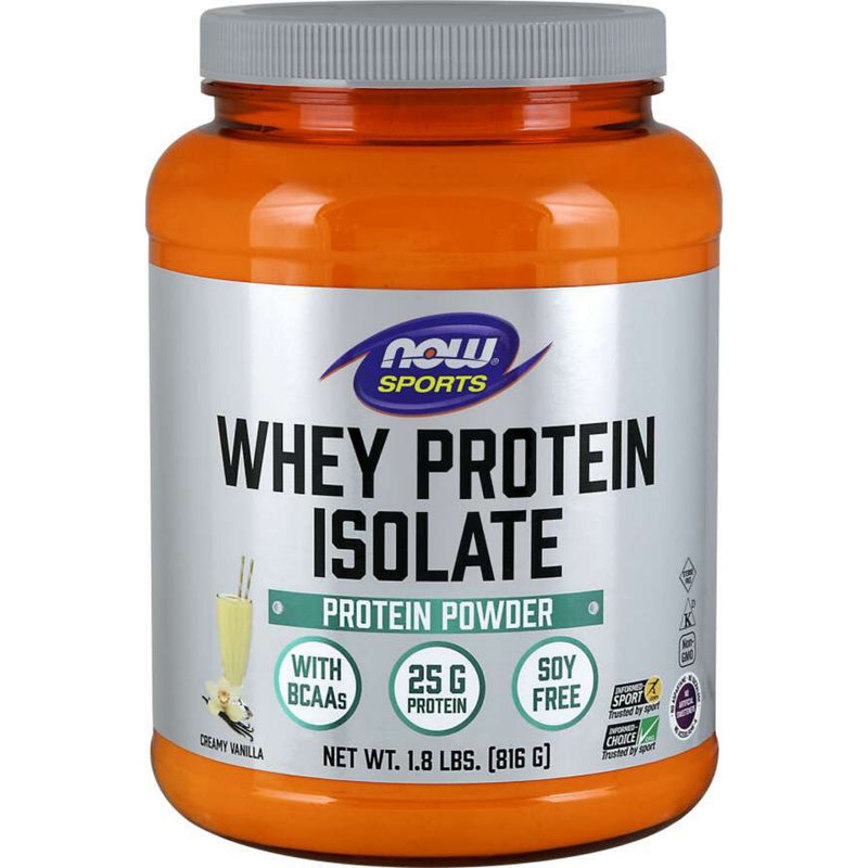 Now Whey Protein Isolate Vanilla 816g