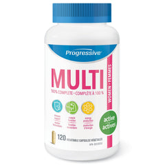 Progressive Women's Active Multivitamins 120vcaps