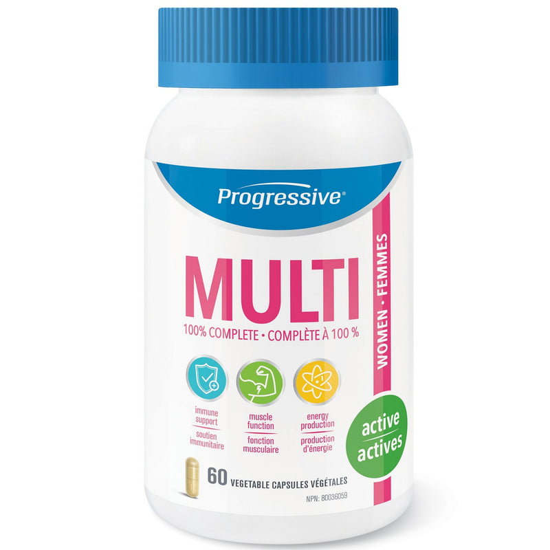 Progressive Women's Active Multivitamin 60vcaps