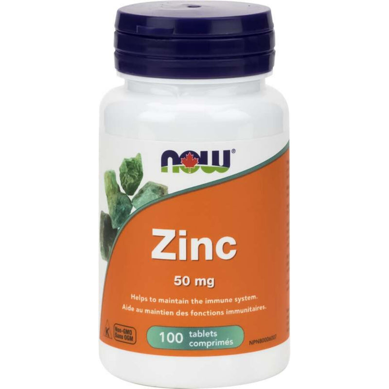 Now Zinc Gluconate 50mg  100T