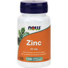 Maintenant Gluconate de Zinc 50mg 100T