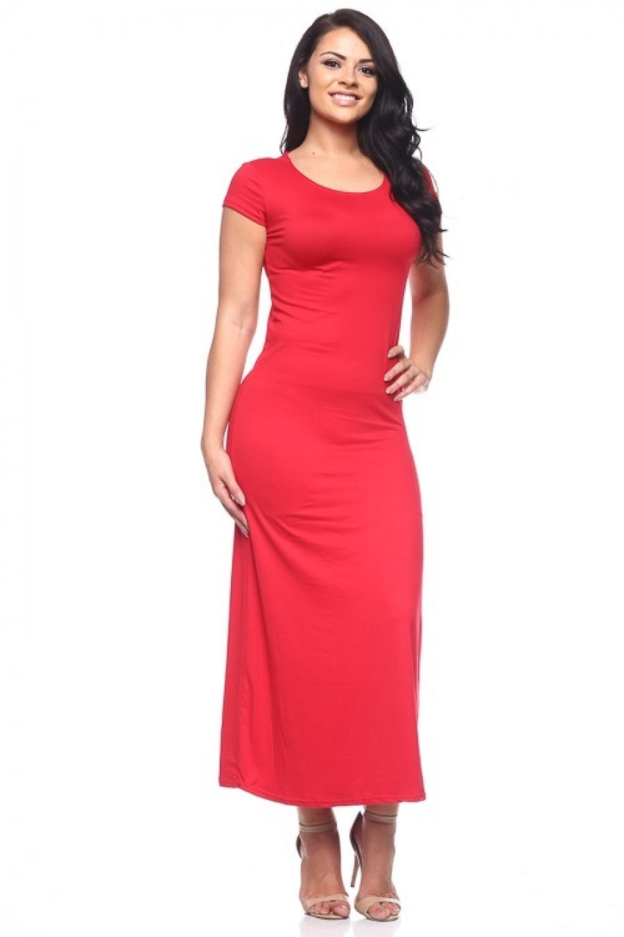 T-Shirt Maxi Dress Plus Size