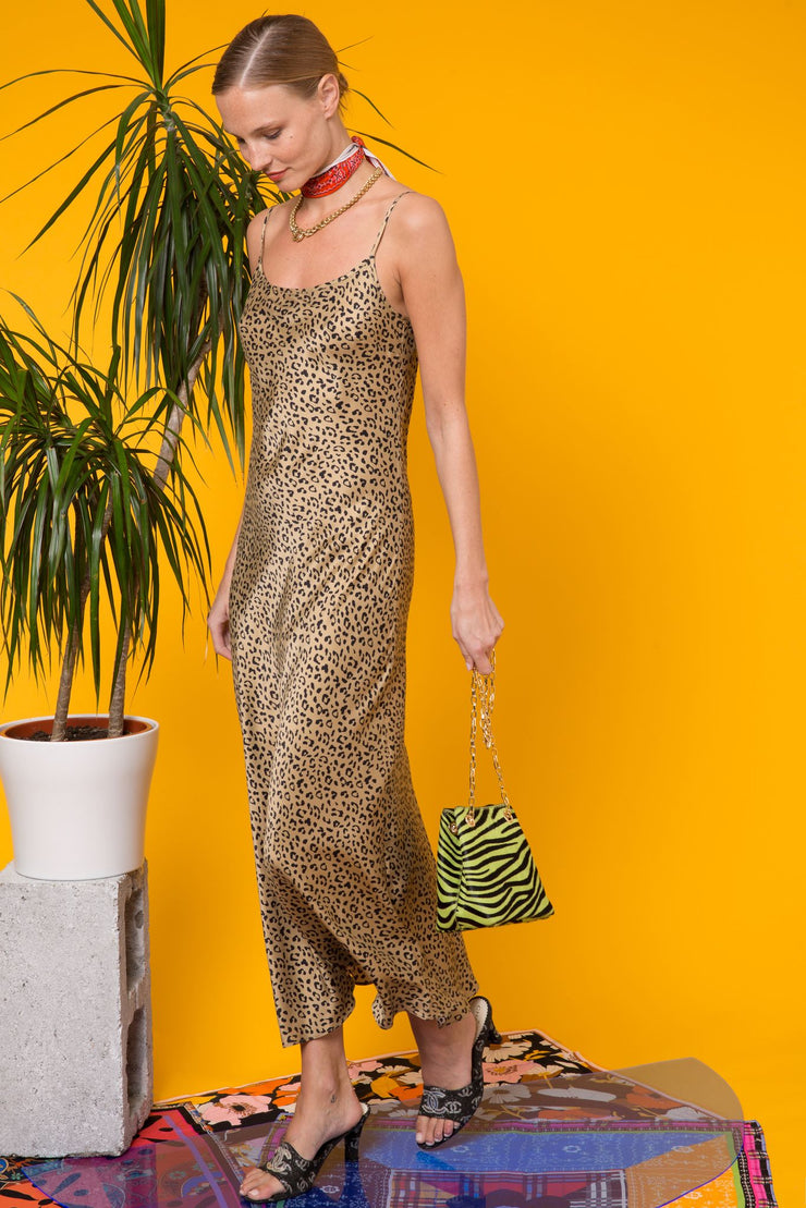 Holly - Leopard Gold Black
