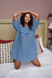 Bailey - Navy Gingham