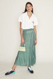 Brandy - Dogtooth Green Black White