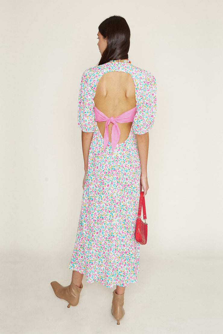 Steph - Summer Ditsy Pink Gingham