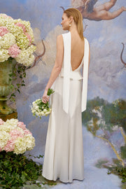Hermione - Satin Back Silk Crepe