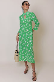 Sophia - Posey Bunch Floral Green Ivory