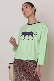 Marnie - Green Mint Leopard