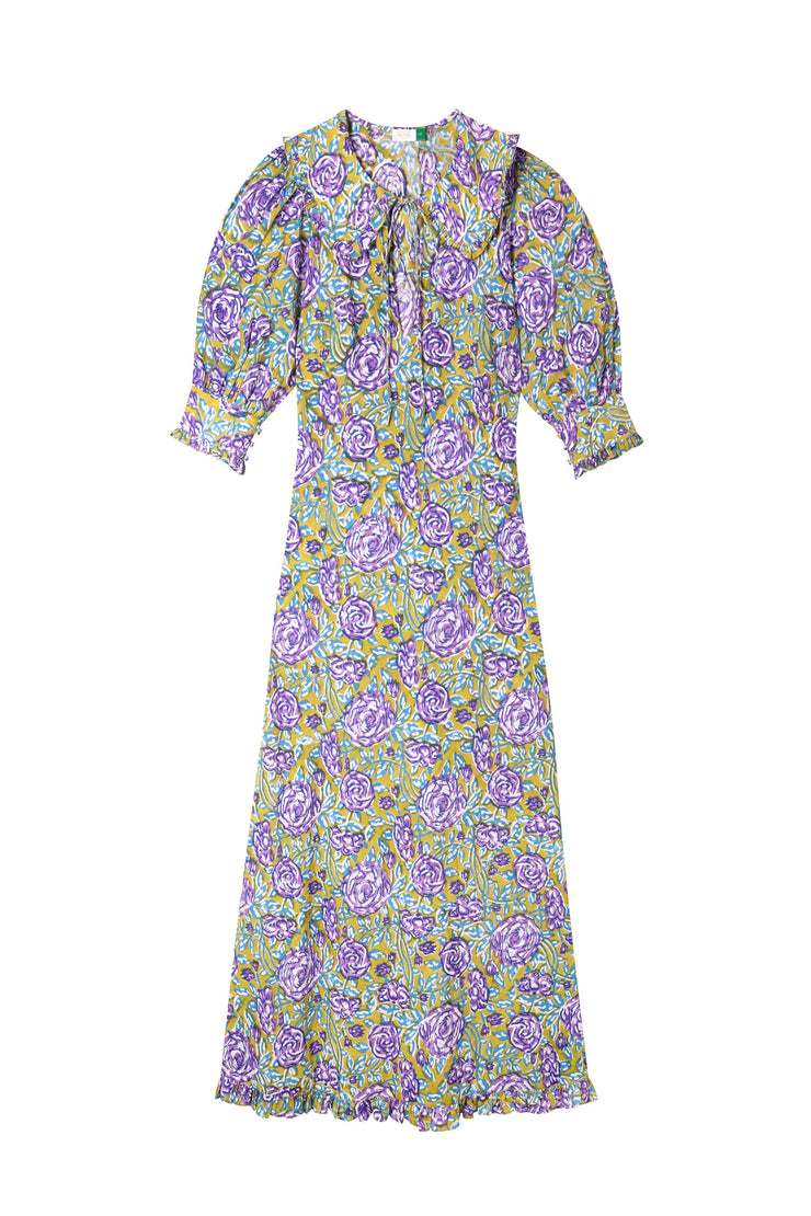 Lauren - Mumbai Floral Midi Dress
