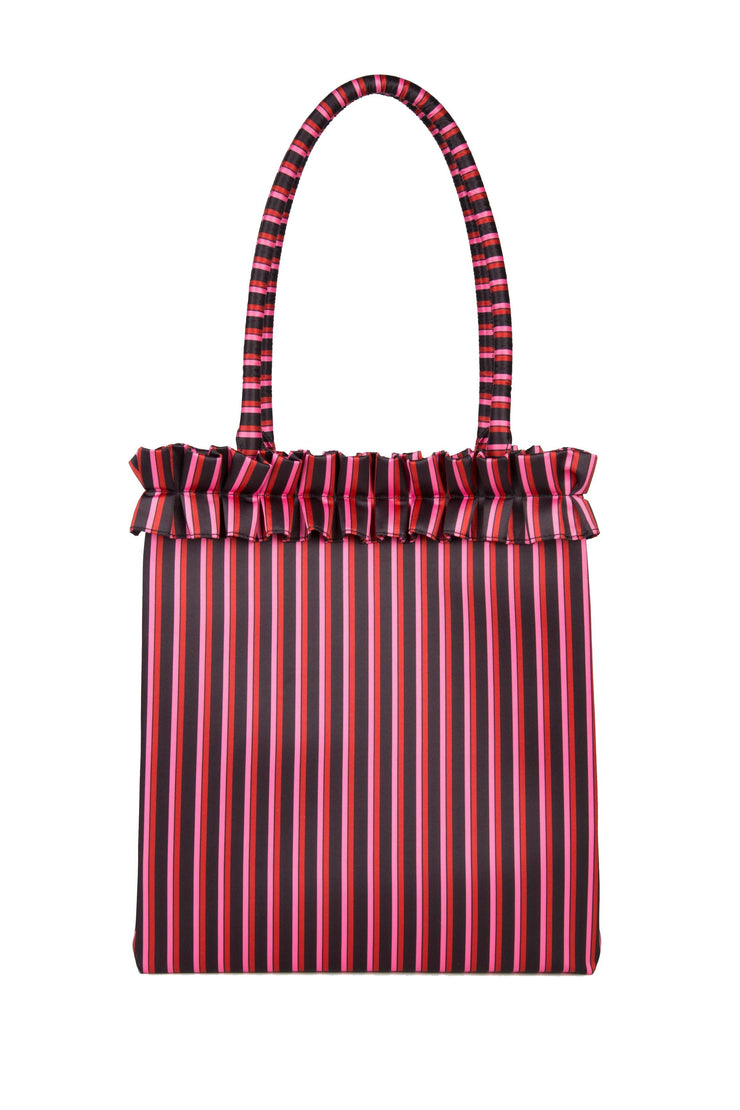 Charlie - Two Stripe Tote Bag
