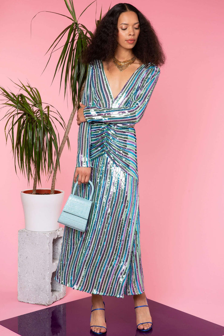 Emmy - Multi Stripe Sequin