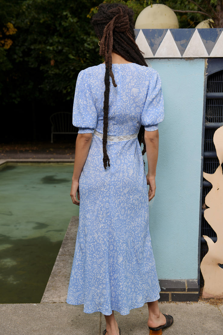 Gemma - In Unity There Is Strength Short Sleeve Midi Dress