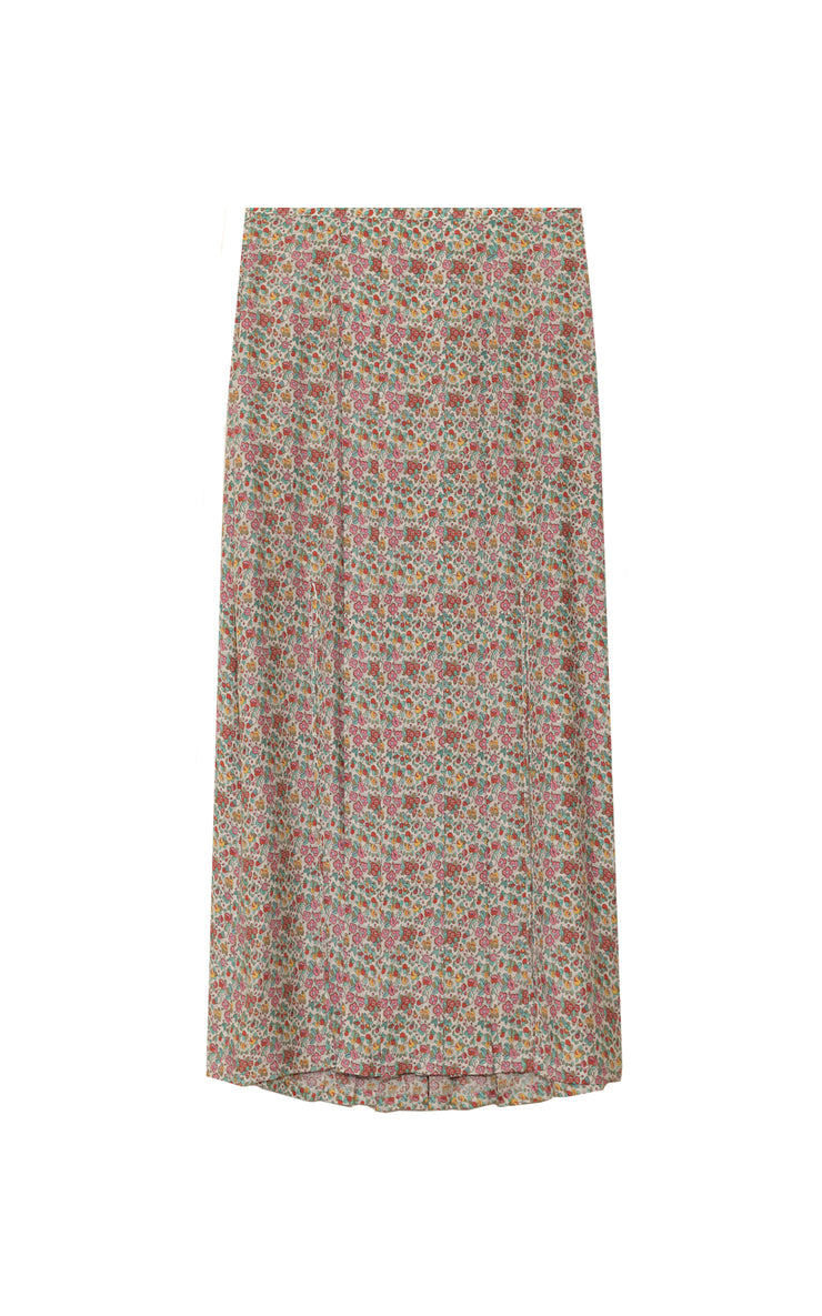 Georgia - Driving Miss Daisy Midi Skirt With Slits