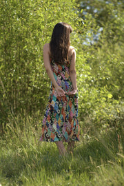 Holly - Patchwork Midi Dress
