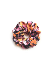 Jasper - Abstract 60s Floral Scrunchie