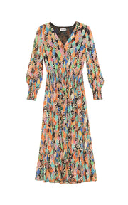 Maya - Patchwork Maxi Dress
