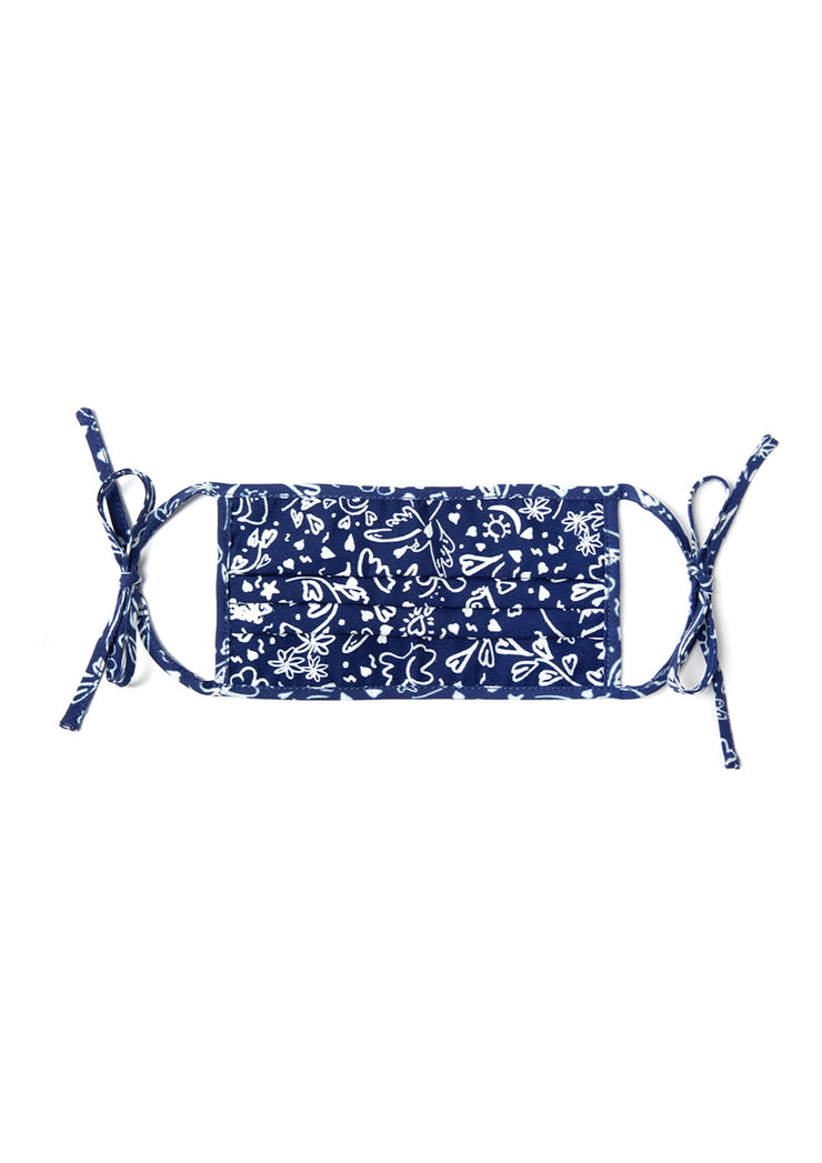 Hope - In Unity There Is Strength Navy Face Covering & Pouch