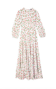 Pip - Ditsy Floral Tiered Midaxi Dress
