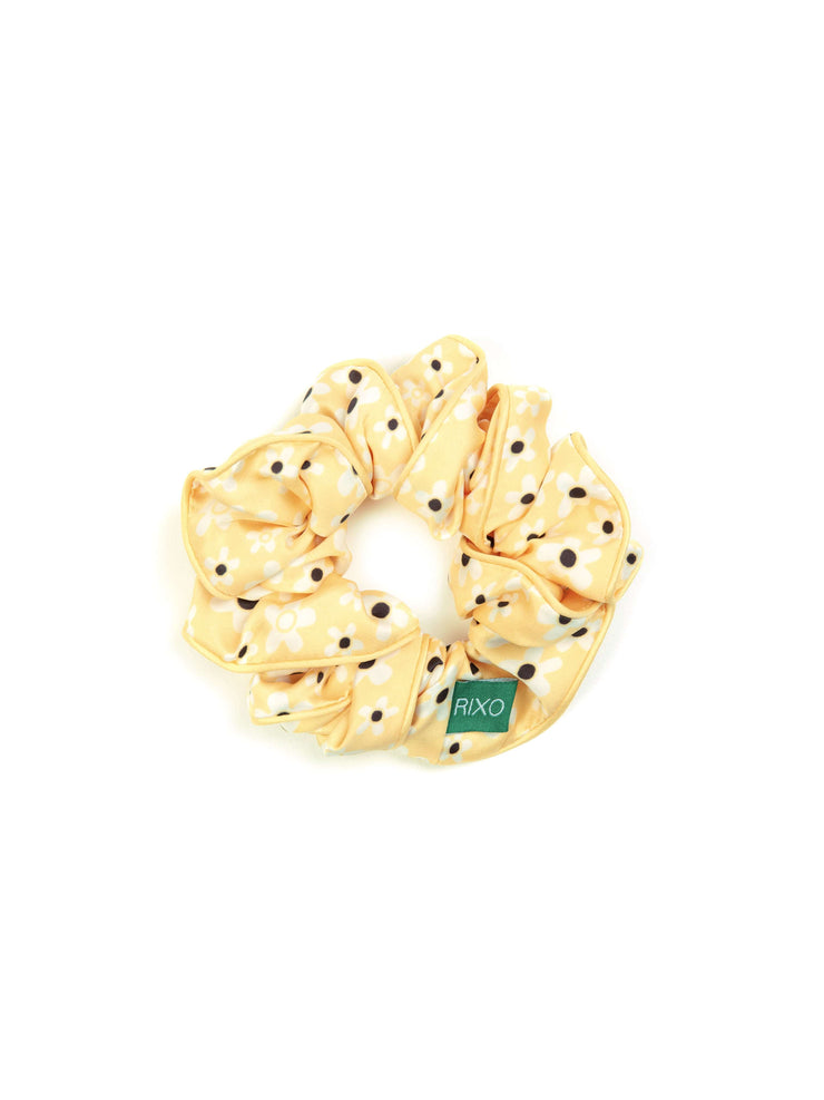 Leyna - Micro Mod Yellow Mini Scrunchie