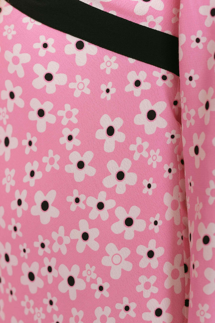 Tania-Micro Mod Floral Pink