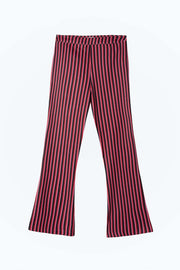 Rocky - Two Stripe Flared Cropped Trouser