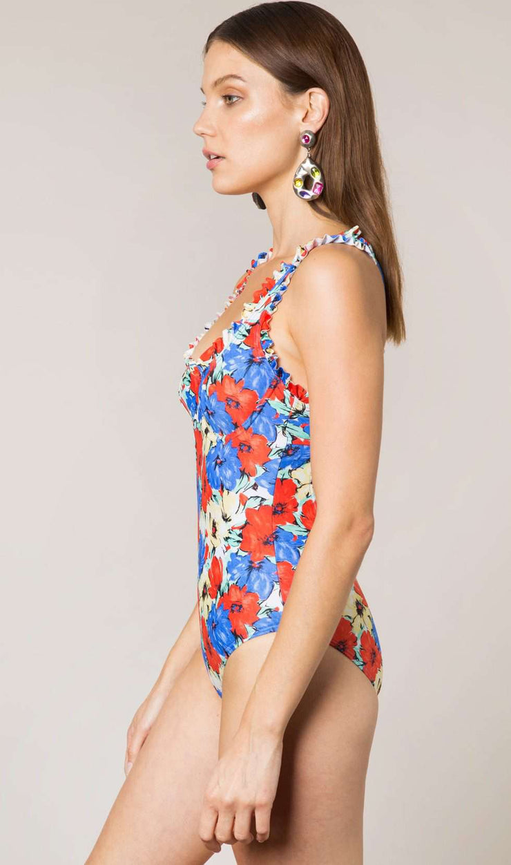 Valentina - Diana Floral Swimsuit
